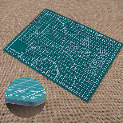 A4 PVC Cutting Mat Self-Healing Cut Pad Craft Quilting Printed Board Double Side
