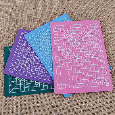 A5 PVC Cutting Mat Self-Healing Cut Pad Craft Quilting Grid Lines Printed Board