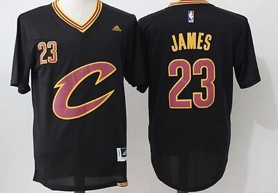 Cleveland Cavaliers NBA sleeve jersey #23 lebron James