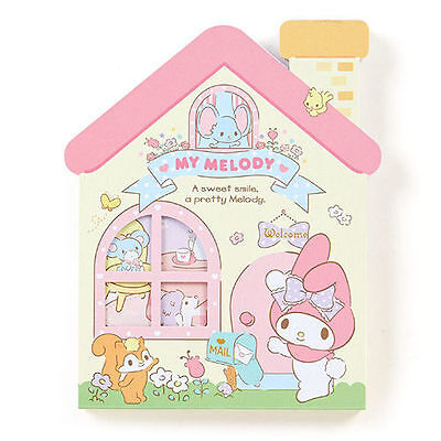 Sanrio My Melody House Type Sticky Note Memo 667021N
