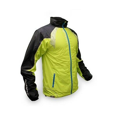 Raidlight Top Extreme Lime Green, coupe vent running homme