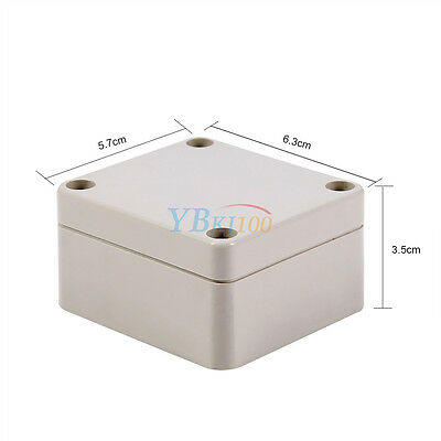 IP66 Waterproof Junction Box 65x60x35mm Connection Outdoor Terminal Box Cover AM