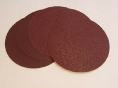 Quality 180mm Self Adhesive / Sticky Backed Aluminium oxide Sanding Discs.