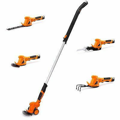 VonHaus 10.8V 4 in 1 Cordless Telescopic Grass Trimmer
