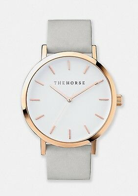 The Horse watch - Grey & Rose Gold - brand new