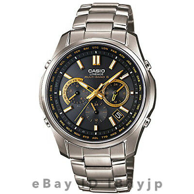 Casio Lineage LIW-M610TDS-1A2JF Multiband 6 Atomic Solar Mens Watch