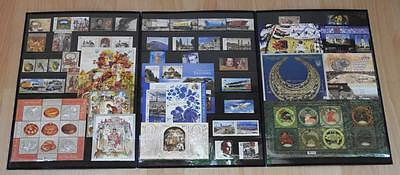 Ukraine COMPLETE FULL YEAR Set of stamps 2013 in FULL SHEETS + blocks MNH