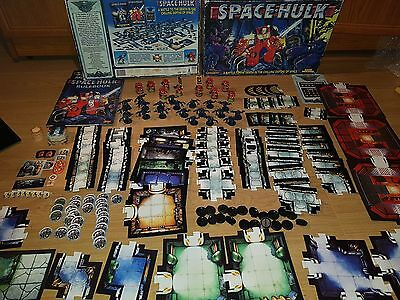 Warhammer 40k SPACE HULK 2nd edition - 100% complete [ENG, 1996] + EXTRA TILES