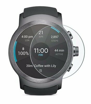 4x Screen Protector Full cover of the glass for LG Watch Sport SmartWatch