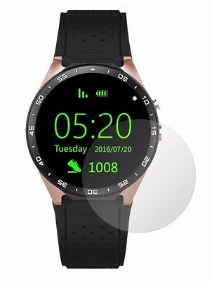 4x Screen Protector Full cover of the glass for Lemfo KW88 SmartWatch