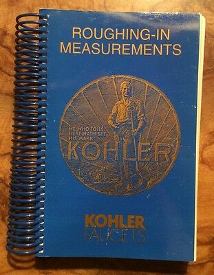 Kohler Faucets  Roughing In Book 1998