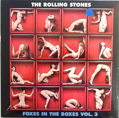 ROLLING STONES LP + CD - VINYL - foxes in the boxes vol.3