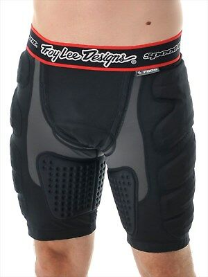 Troy Lee Designs Black LPS 7605 MX Protection Shorts