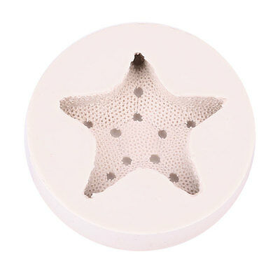 3D Starfish Silicone Cake Mould Candy Chocolate Decor Paste Gumpaste Craft Tool