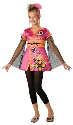 Killer Kimono Japanese Geisha Girl Designer Costume Child
