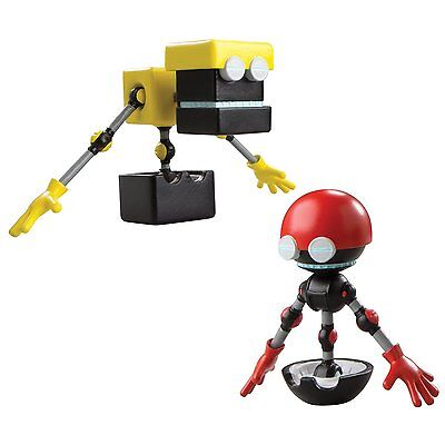 """Sonic Boom 3"""" Action Figure 2-Pack: Orbot & Cubot"""