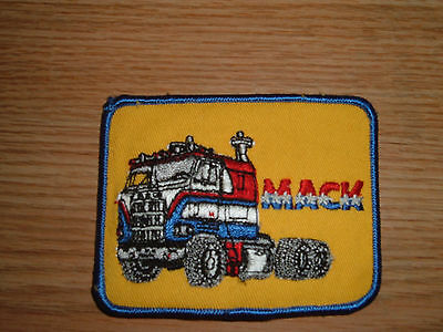 Vintage Mack Truck Embroidered Patch