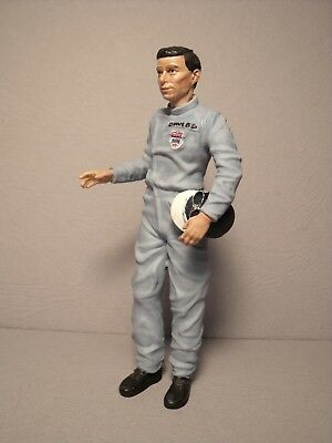 Jim  Clark  1/18  Painted  Figure  Made  By  Vroom  For  Exoto  Spark  Quartzo