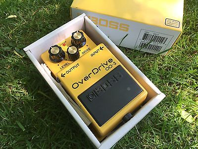 Boss OD-3 Overdrive Electric Guitar Pedal - Boxed