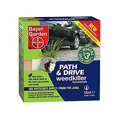Bayer Garden Path and Drive Weedkiller Concentrate, 50 ml