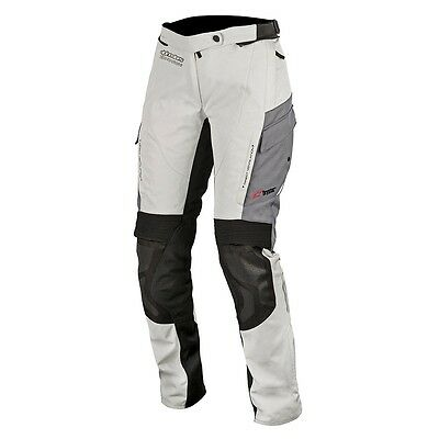Alpinestars Andes Drystar V2 GreyTextile Motorbike Motorcycle Touring Trousers