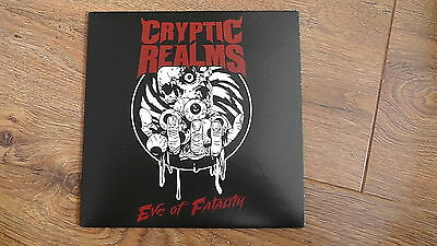 "CRYPTIC REALMS Eve 7"" VINYL 2015 Death Bolt Thrower Massacre Carbonized Benedict"
