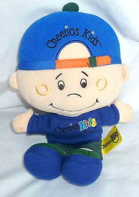 """Vintage 2002 Cheerios Kids Doll 11.5 """" Tall Collectible General Mills Cereal"""