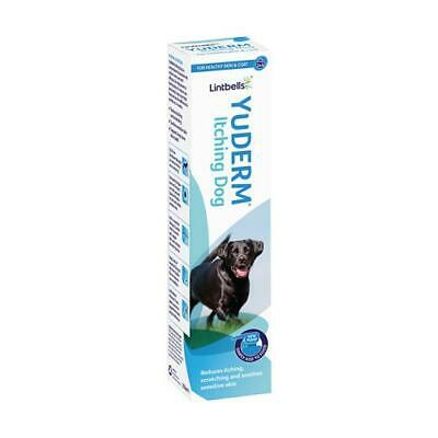 LINTBELLS YuDERM ITCHY DOG SKIN & COAT Nutritional Supplements BEST PRICE!!
