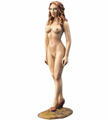 1/32 Figure Painted Naked Girl Metal Toy Soldiers 54mm Nude Woman