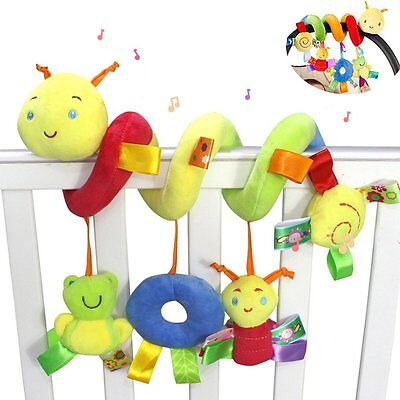 Daisy Infant Baby Crib Mobile Ornament Hangings Rattle Toy Spiral Activity Bar P