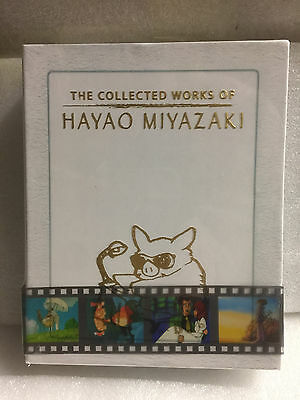 The Collectible Works of Hayao Miyazaki 11 Movies Exclusive Content Box Set