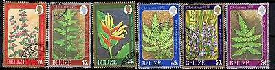 BELIZE STAMPS- Wild Flowers , set, 1978 (#)