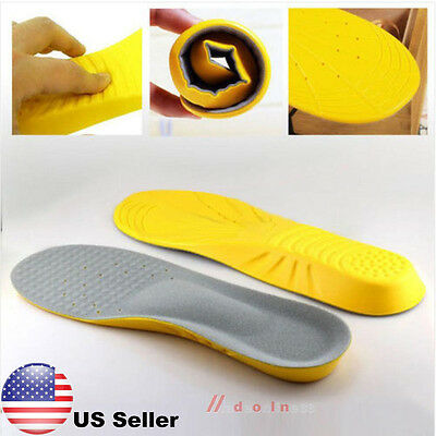 Memory Foam Orthotics Arch Pain Relief Support Shoes Insoles Insert Pads Cushion