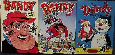 Collection Job Lot - 3 x Dandy Annuals 1972, 1993, 1994 - Comic Books
