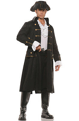 Brand New Captain Darkwater Pirate Adult costume