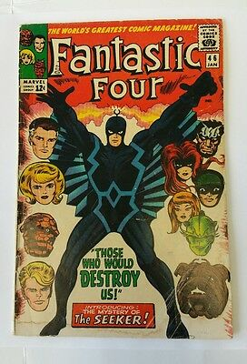 Fantastic Four #46, Marvel, 1st Black Bolt, lower grade