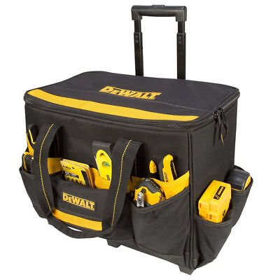 DeWalt DG5570 17 in. Roller Tool Bag with Handle and Multi-Use Pockets New