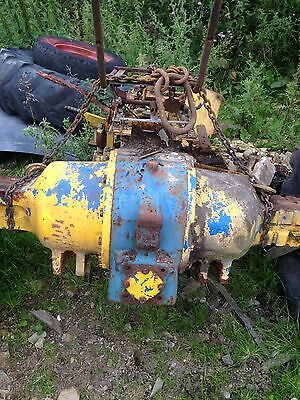 Ford Tractor 4000/4600 Skid/backend/gearbox