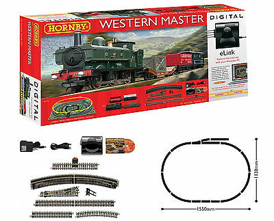 Hornby Western Master Digital Train Set with eLink - Hornby R1173 Brand New