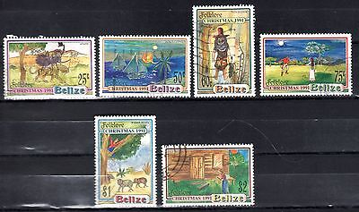 BELIZE STAMPS- Folklore and legends, set , 1991 (#)