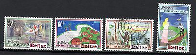 BELIZE STAMPS- Folklore and legends, set , 1992 (#)