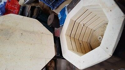 Tetlow #3 Cone 8 Multi Sided Octagonal Electric Pottery Kiln