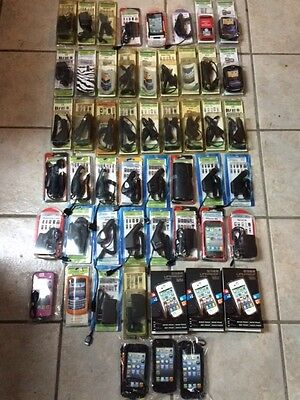 Lot Of Cell Phones Accesories(Covers And Chargers