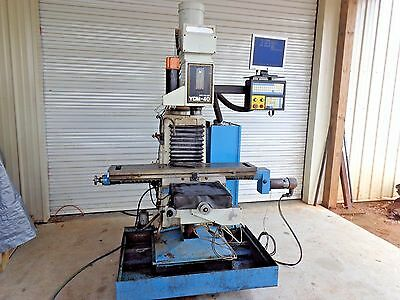 Supermax Ycm-40 Cnc Vertical Milling Machine 3 Axis    Stk 14510E