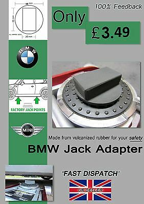 BMW 1, 3, 5 SERIES JACKING TOOL JACK ADAPTER Rubber PAD small