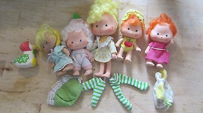 Strawberry Shortcake and friends doll lot