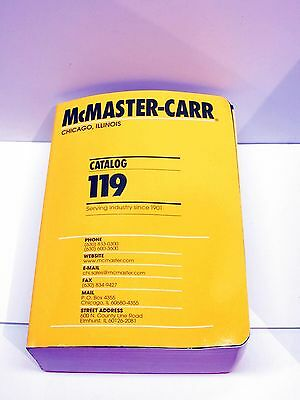 #119  McMaster Carr Catalog - CHICAGO, IL. Opened, Never Used. NEW!
