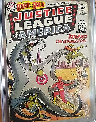 Brave and the bold #28 cgc 3.0 SOLID COPY Bold Colors