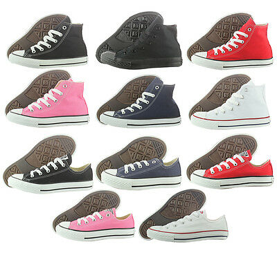 Converse All Star Chuck Taylor Canvas Original Hi and Low Men Women Shoes *NOBOX