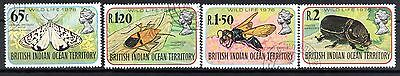 INDIAN OCEAN STAMPS- Wildlife 4th issue, set,  1976  (#)